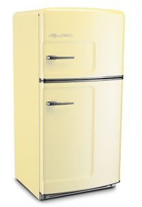 The Big Chill Retro Refrigerator in Buttercup Yellow